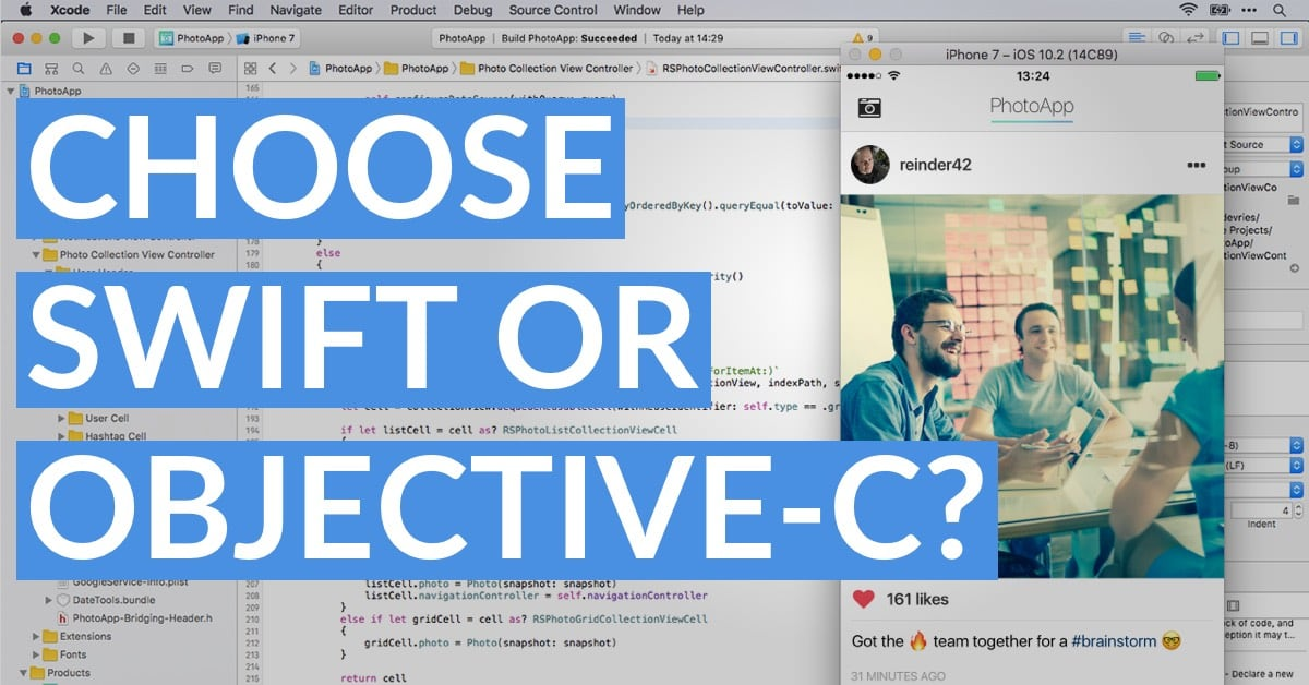 Should You Learn Swift Or Objective-C As A Beginner App Developer