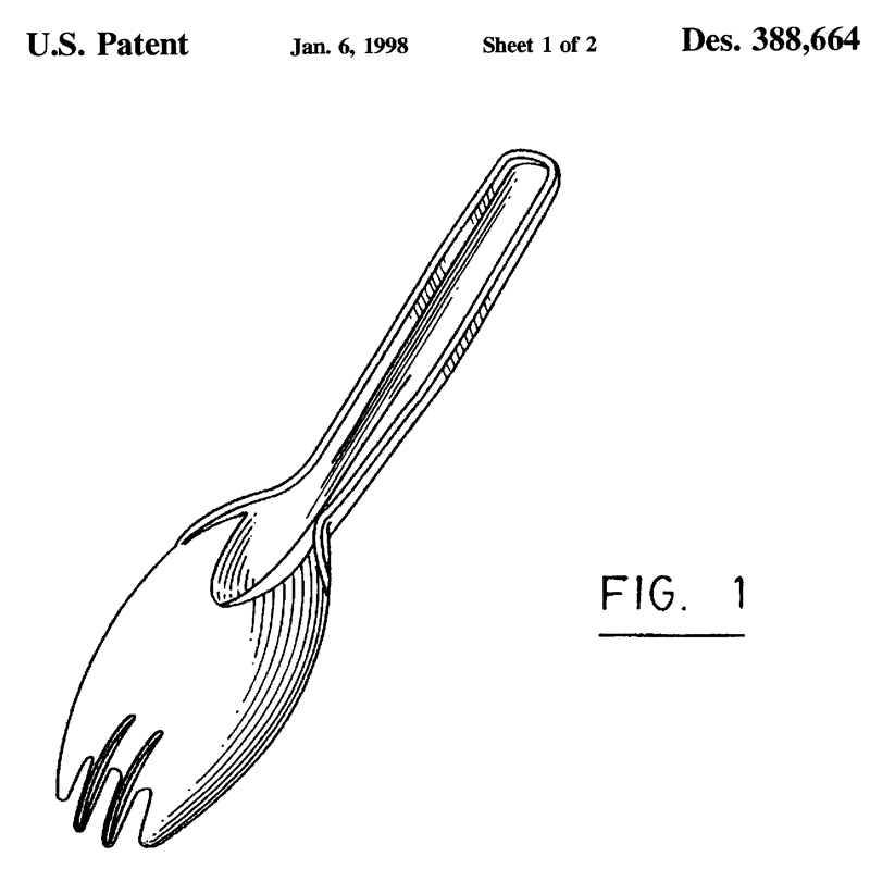 Spork: novel utensil or over-engineered feat?