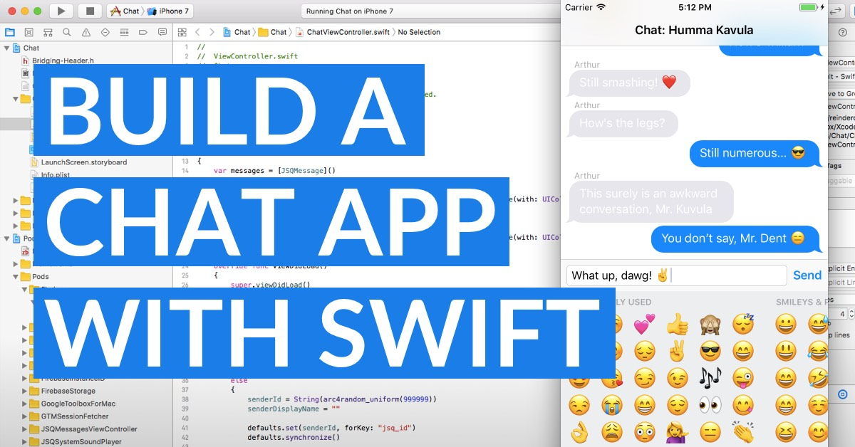 Build A Real-Time Chat App With Firebase And Swift - LearnAppMaking