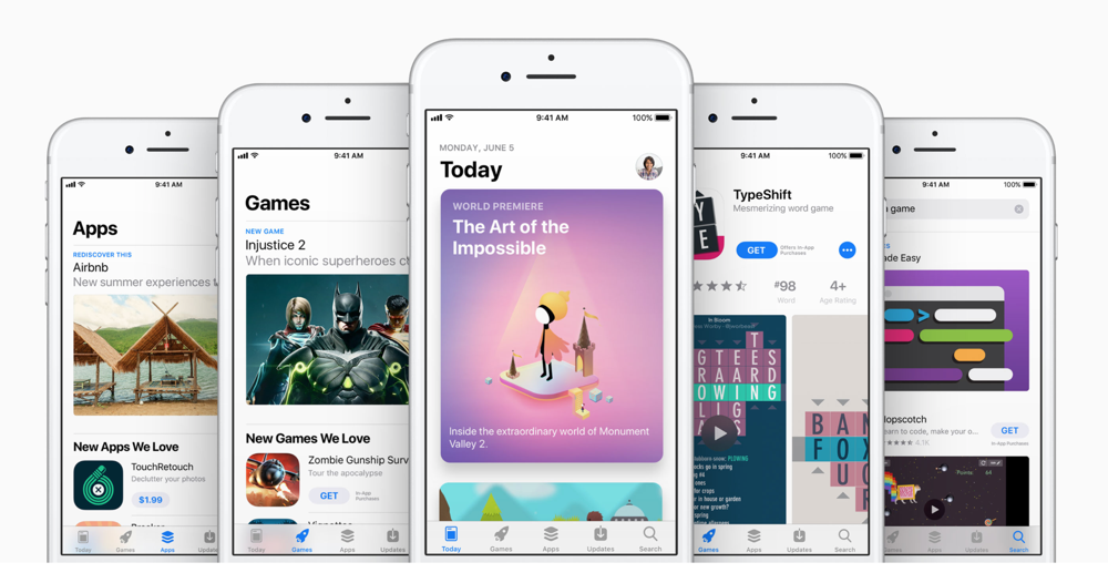WWDC 2017 App Store All-New Design