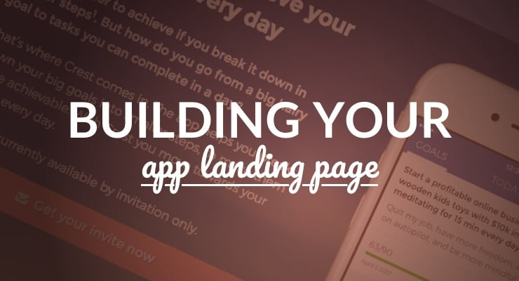 Building Your App Landing Page