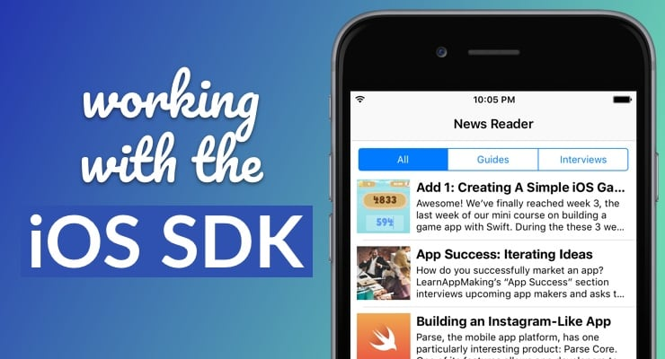 Working with the iOS SDK