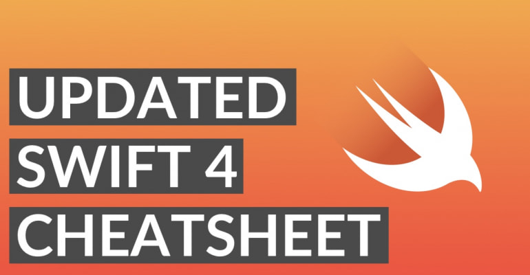 Now Open Source: The Swift 4 Cheatsheet