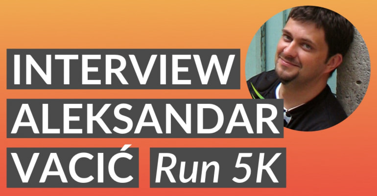 Interview with Aleksandar Vacić from Radiant Tap & Run 5K
