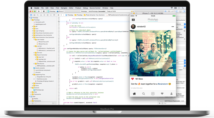 Learn to code iOS apps from scratch