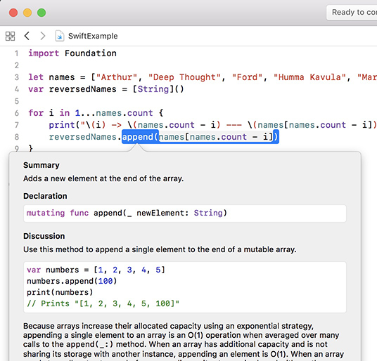 Get Started With Xcode Playgrounds – LearnAppMaking