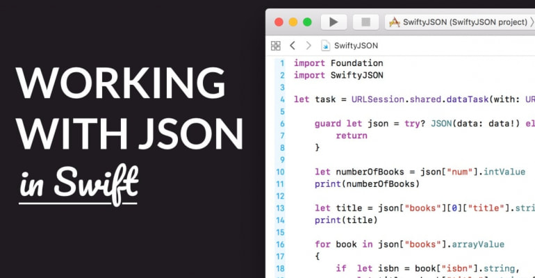 Working With JSON In Swift With SwiftyJSON – LearnAppMaking