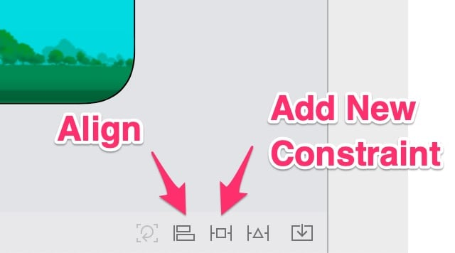 Add New Constraints icon