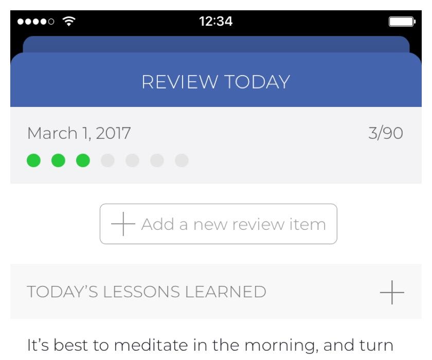 App Idea, Popover UI