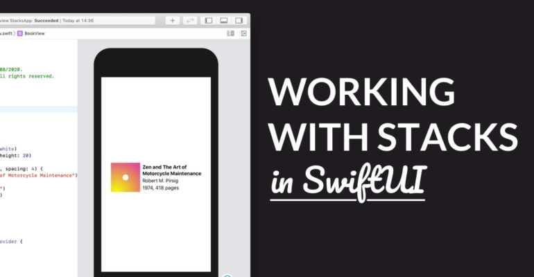 Working with Stacks in SwiftUI