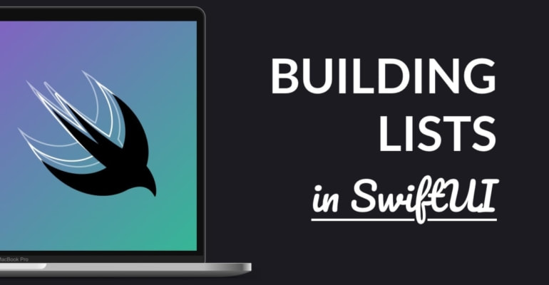 Working with List in SwiftUI
