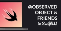 @ObservedObject and Friends in SwiftUI